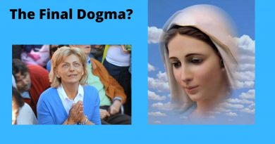 "These Troubling Times: Medjugorje and The Final Dogma: ""I am the Mediatrix between you and God"" … The Queen of Peace says THE HEAVENLY FATHER HAS SENT HER TO EARTH IN THIS ROLE."
