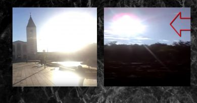 Signs from Heaven –  Sun Miracle in Medjugorje – New Video