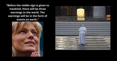 """Reaching the Tipping Point: The Covid-19 Pandemic, Secrets, and the mystery of March 18th… Mirjana knows exact date that the secrets will be revealed. """"Before the visible sign is given to mankind, there will be three warnings to the world. The warnings will be in the form of events on earth."""""""