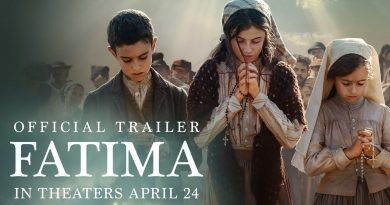 "The Offical Fatima Movie trailer is out – Coming to theaters on April 24, 2020 ""A powerful and uplifting drama about the power of faith, FATIMA tells the story of a 10-year old shepherd and her two young cousins in Fátima, Portugal, who report seeing visions of the Virgin Mary"""