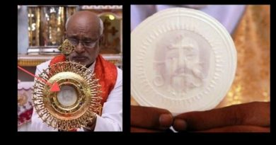 """One of the great miracles of our times"" Investigation of Miracle Host from India intensifies…Host with Holy Face of Jesus arrives at the Vatican for historic examination"