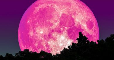 Super Pink Moon linked to 'end of days' omen, a 'rebirth' and nightmares appears tonight.