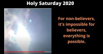 The Amazing Easter Sun Miracle of 2018 at Medjugorje.