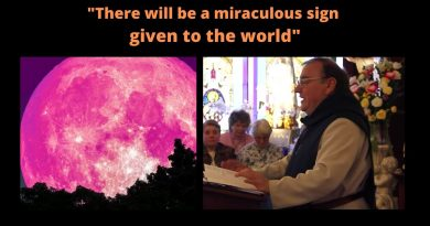 "Fr. Michel Rodrigue: After the Warning and World War III – ""There will be a miraculous sign given to the world some time after the Warning at Garabandal, Medjugorje and on the mountain of Tepeyac where Our Lady of Guadalupe appeared."""