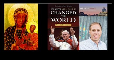 "Patrick Novecosky talks about his important new book ""100 Ways Pope John Paul II Changed the World""."
