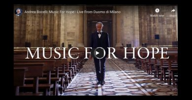 Andrea Bocelli: Music For Hope – Live From Duomo di Milano – Unforgettable – Ave Maria inside the empty Duomo