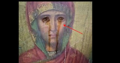 Signs of Hope: Icon of the Mother of God  Has Started to Exude Myrrh in the Diocese of Tula – Icon located in ruined Church of St. Michael the Archangel