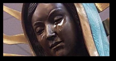 "Statue Weeps in New Mexico…""That's when I saw that she really was crying."" Father Pepe"