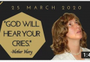 "Medjugorje: As we wait for tomorrow's April 25, 2020 Monthly message,  we look at last month's prophetic message: """"GOD WILL HEAR YOUR CRIES."" …"