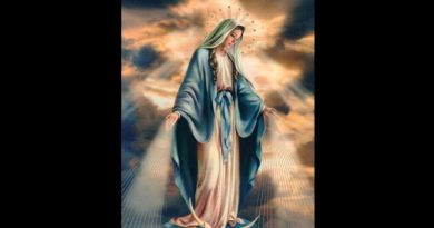Blessed Mother asks us to pray in this way… If she is asking in this way let's oblige her. God clearly wants to renew the face of the earth