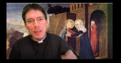 Fr Goring Message to Protestants: TAKE MARY INTO YOUR HOME!