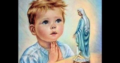 Powerful ???? ?????: The Protestant Child Who Prayed the Hail Mary – May is Mary's Month