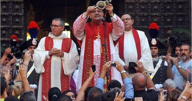 In the Midst of the Pandemic, The Blood of Church martyr St. Januarius Liquifies in Naples…
