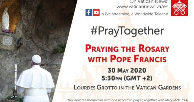 How to pray the Rosary to end the coronavirus pandemic with the Pope on Saturday (11:30 EDT USA)