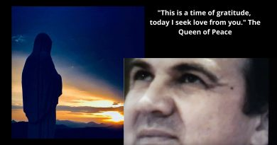 Medjugorje Visionary with rare message from USA