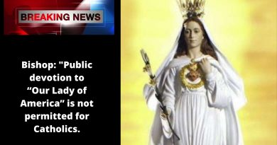 "Bishop: ""Public devotion to ""Our Lady of America"" is not permitted for Catholics."