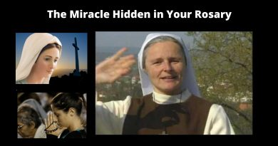 "The Miracle hidden in your rosary…Sr. Emmanuel: ""This video will be a turning point for your life."""