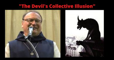"""When the devil returns after six weeks""  Fr. Michael warns about the devil's ""collective illusion."""