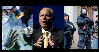 "Signs: Will the ""Bat Virus"" Lead America into a civil war. – Rush Limbaugh Predicts A 'Veritable' Civil War — Could He Be Right?"