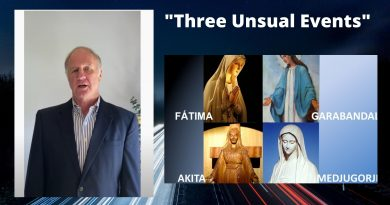 Ted Flynn at Signs and Wonders: 3 Unusual Events concerning  Akita, Garabandal and Medjugorje have just taken place. (video)