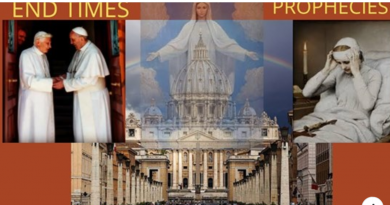 Anne Catherine Emmerich's prophecy of two Popes, the Antichrist, and Our Lady's Plan for the Church and the World.