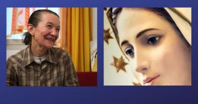 Medjugorje: Interview of Father Livio with Vicka: 'Our Lady is about twenty years old and is always beautiful'  Visionary describes the Queen of Peace