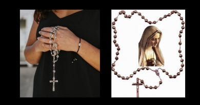 WEARING THE ROSARY AS A NECKLACE, IS IT OKAY? Read and Share