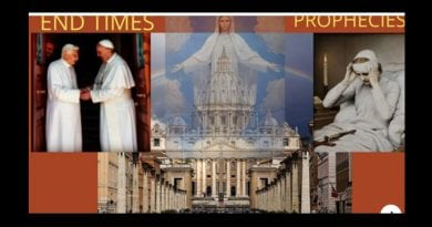 """Signs of the End Times"" -Anne Catherine Emmerich's prophecy of two Popes, the Antichrist, and Our Lady's Plan for the Church and the World."
