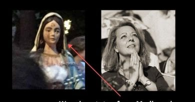 "Weeping Statue from Medjugorje .. Italian couple receive warnings and prophecies …Special Message June 23, 2020: ""My little remnant will be persecuted; I weep over the young people who are far from God, I weep over unbaptized children and those who are growing up in the clutches of evil."""