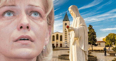 "Medjugorje: Angels are real and they are beautiful… Visionary Marija: ""Our Lady often comes with many angels, small and large. When Our Lady is sad the Angels are sad."""