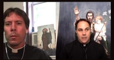 """Fr. Goring and Fr. Calloway discuss a """"World Gone Bonkers""""  Why Saint Joseph matters today more than ever."""
