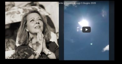 "Gisella Cardia – ""You are at the beginning of the Apocalypse!.. prepare for the encounter with the anti-christ""  – Miracle of the sun took place during apparition and praying the Rosary."