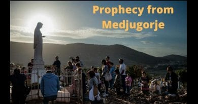 "Prophecy from Medjugorje: ""As individuals, you cannot stop the evil that wants to begin to rule in this world and to destroy it. But, all together, with my Son, you can change everything and heal the world."""