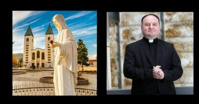 *** Breaking News *** Medjugorje has a new Bishop! Thanks be to God and Congratulations to His Excellency Bishop Petar Palic – The new Bishop of Mostar