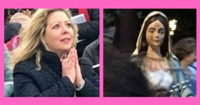 "Gisella Cardia – The lady with the mysterious statue from Medjugorje – Powerful July 25 Message: ""Holy Rosary which is the sole* protection that you will have against evil.  Look around you: earthquakes, tsunamis, devastating storms will not stop"""