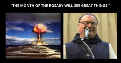 "The Count Down has begun  – Fr. Rodrigue leaves nothing to the imagination ""Great events of purification will begin this fall…There will be money, but they will have no bread."""