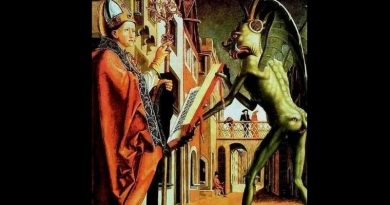 How Saint Augustine Confounded the Demon.