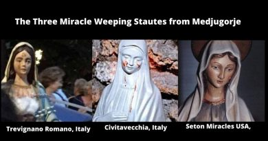 The Little-Known Phenomenon of the Three Weeping Statues from Medjugorje that have touched the world – Why Medjugorje?