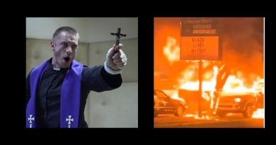 "New Police Shooting Erupts into Riots in Wisconsin …Exorcist Priest makes strong claim that America is ""infected"" by demons shows signs of demonically possessed."