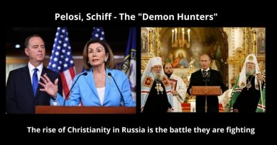 Catholic Prophecy – The Untold Story: Russia's Return As Defender of Christianity is the Secret Behind Washington DC's Russia Obsession