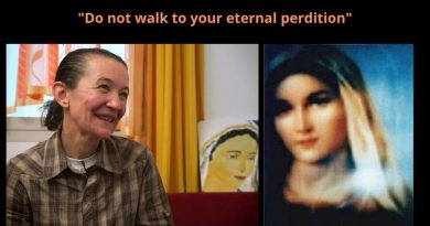 "Medjugorje: Our Lady's Daily Pearl Spetember 9, 2020: ""Do not let Satan seduce you!""  Avoid at all costs becoming ""an image of Satan"" Too many are walking to eternal perdition"