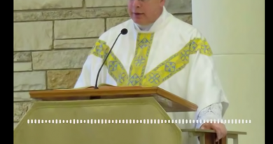 "Powerful Homily for our times: Fr. Robert Altier: ""God or the Great Reset – There is no middle ground!"" Pastor warns his parishioners that the division in American presents Christians with a choice between good and evil."