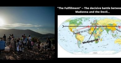 "The Mysterious Message that powerfully connects Medjugorje to Fatima- ""The Fulfillment"" — The decisive battle between the Madonna and the Devil…"