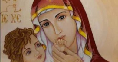 Placing ourselves under the maternal and loving gaze of Mary Most Holy