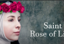 "Miracle of the Holy Face by Saint Rose of Lima ""Her beauty was so great…"""