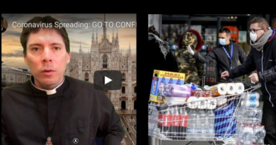 STOCKPILE FOOD NOW! – Fr. Mark Goring Warns of Government Restrictions