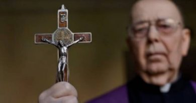 "The Greatest Exorcist – Fr. Armorth's (R.I.P.) most effective prayer for liberation against attacks from the ""Evil One""…"