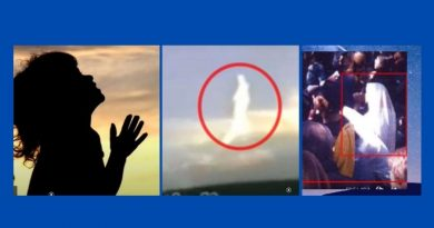 "Amazing Miracle Photos of Jesus and Mary – ""Arms of an angel"""