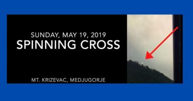 "Drama on Cross Mountain Caught on Video -""Spinning, disappearing, pulsating of the giant cross on Mt. Krizevac"""