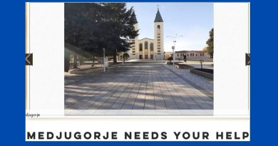 Medjugorje needs your help – Many there and in the surrounding villages have no food and no heat, as winter sets in.